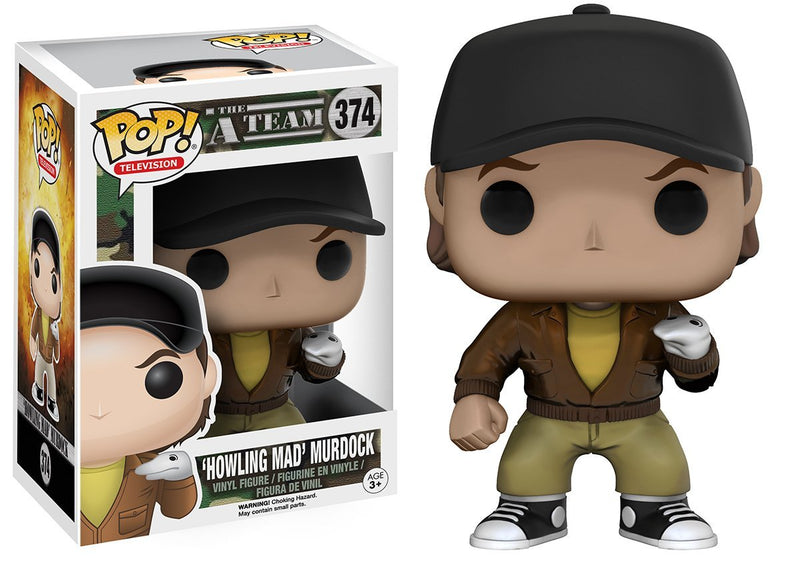 Funko POP TV: A-Team - Murdock Action Figure - Kryptonite Character Store