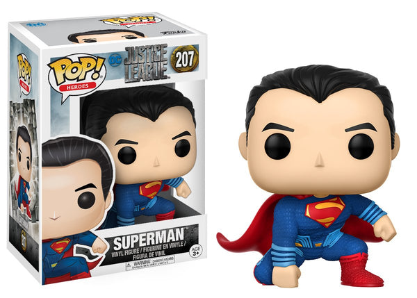 Funko POP! Movies DC: Justice League - Superman Vinyl Figure