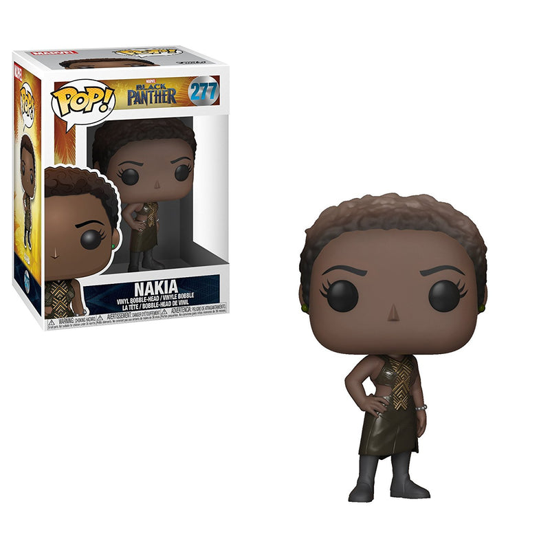 Funko POP! Marvel: Black Panther Movie - Nakia Collectible Figure - Kryptonite Character Store