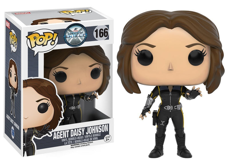 Funko Pop! Marvel: Agents of S.H.I.E.L.D - Quake (Daisy) Action Figure - Kryptonite Character Store