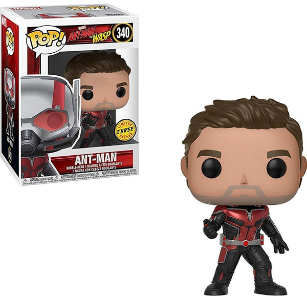Funko Pop! Marvel: Ant-Man & the Wasp - Unmasked Ant-Man CHASE Limited Edition Vinyl Figure