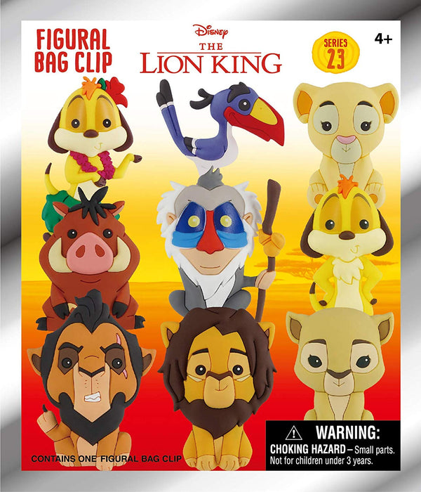 Disney Lion King Figural Bag Clip Mystery Bag - Kryptonite Character Store