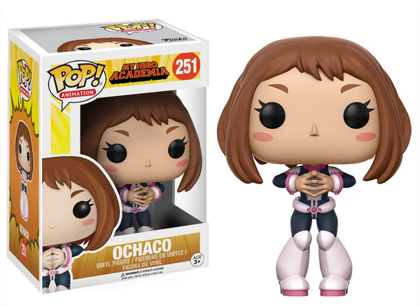 Funko POP Anime: My Hero Academia - Ochaco Vinyl Figure - Funko POP Anime: My Hero Academia - Ochaco Vinyl Figure