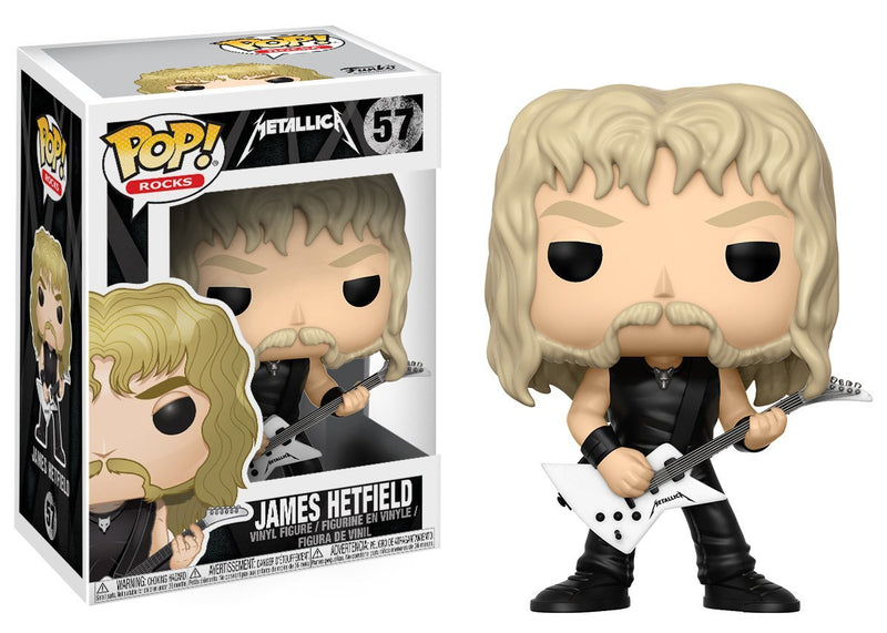 Funko Pop Rocks: Metallica-James Hetfield Collectible Figure - Kryptonite Character Store