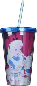 Alice in Wonderland: Tea Time Straw Cup