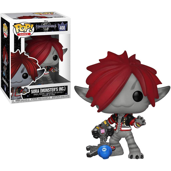 [Monster's Inc]: Kingdom Hearts Funko POP Disney Sora Vinyl Figure