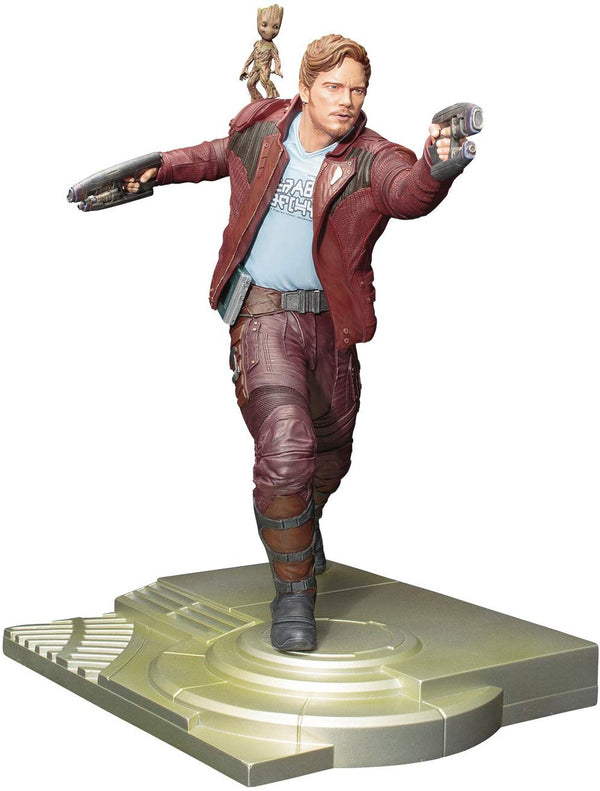 Guardians of the Galaxy 2: Star-Lord with Groot 1/6 Scale ArtFX Statue