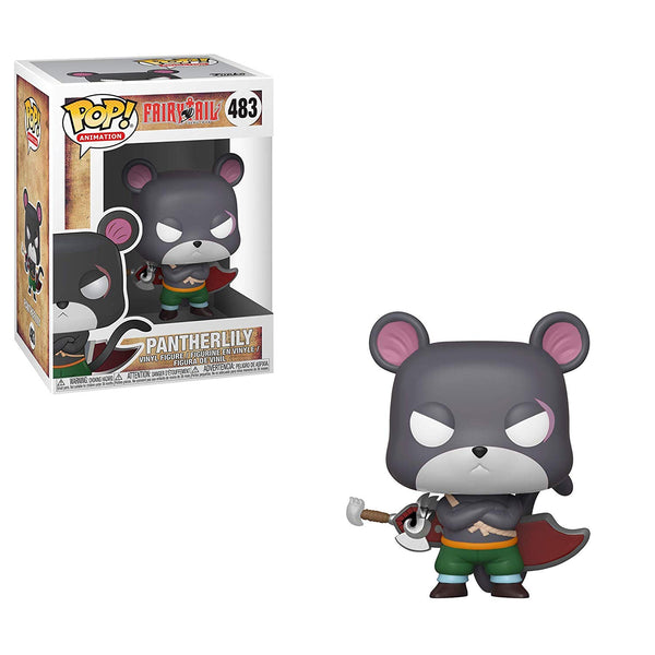 Fairy Tail - Panther Lily Pop Anime Vinyl Figure - Kryptonite Character Store