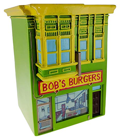Bob's Burgers Officially Licensed Restaurant Coin, Piggy Bank