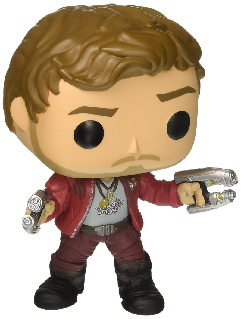 Funko POP Movies: Guardians of the Galaxy 2 Star Lord Toy Figure,Styles may vary - Kryptonite Character Store