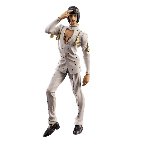 Banpresto - Jojo's Bizarre Adventure Golden Wind Bruno Bucciarati Arrivederci Collectible PVC Figure - Kryptonite Character Store