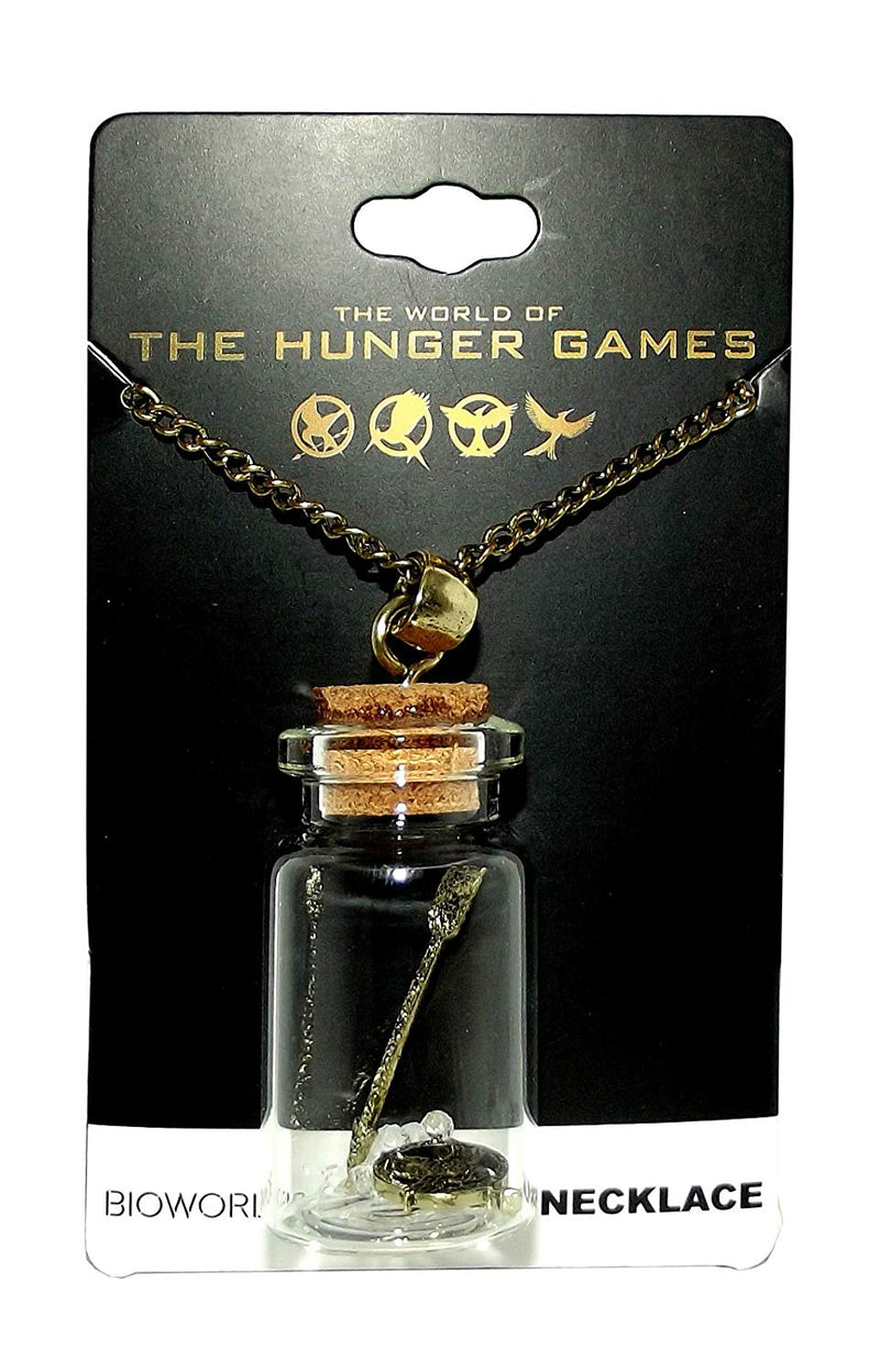 Hunger Games Bottle Necklace