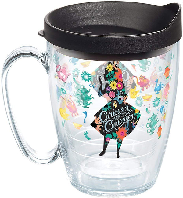 "Alice in Wonderland ""Curiouser"" 16 oz. Mug"