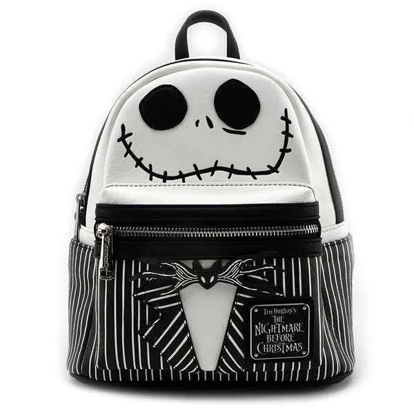 Loungefly x The Nightmare Before Christmas Jack Leather Mini Backpack