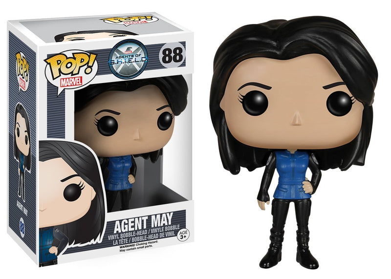 Funko POP Marvel: Agents of S.H.I.E.L.D Melinda May Action Figure - Kryptonite Character Store