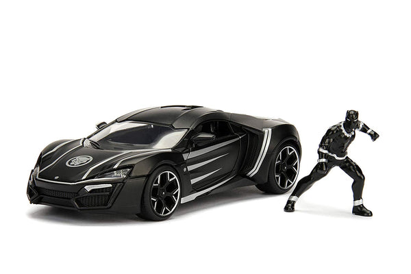 Marvel Black Panther - Lykan Hypersport 1:24 Scale Car