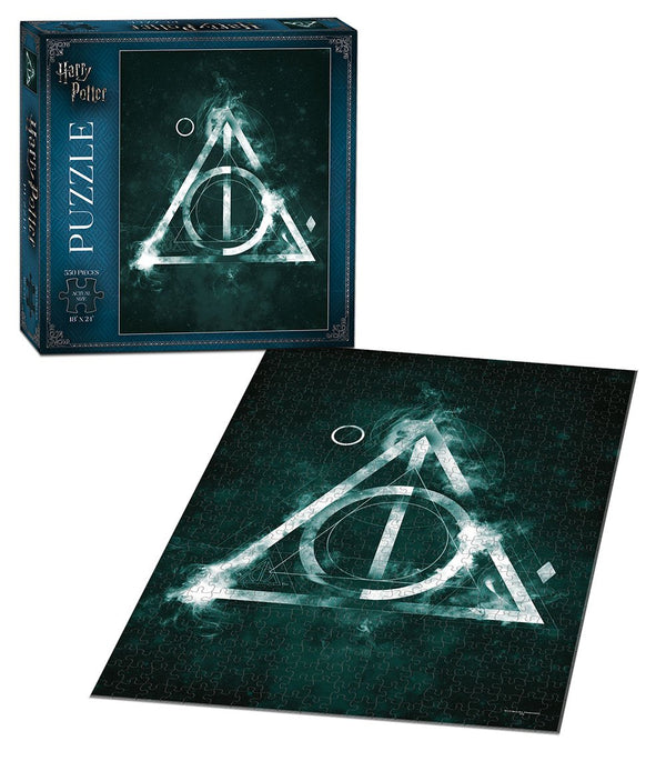 Harry Potter The Deathly Hallows - Puzzle 550 Pc - Kryptonite Character Store