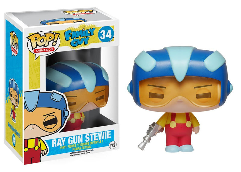 Funko POP TV: Family Guy Ray Gun Stewie Action Figure - Kryptonite Character Store