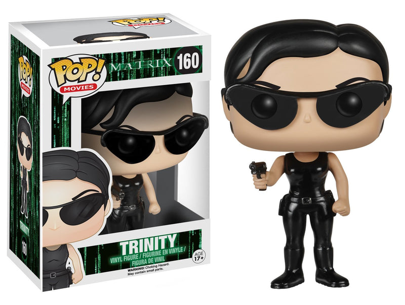Funko POP Movies: The Matrix - Trinity Action Figure - Kryptonite Character Store