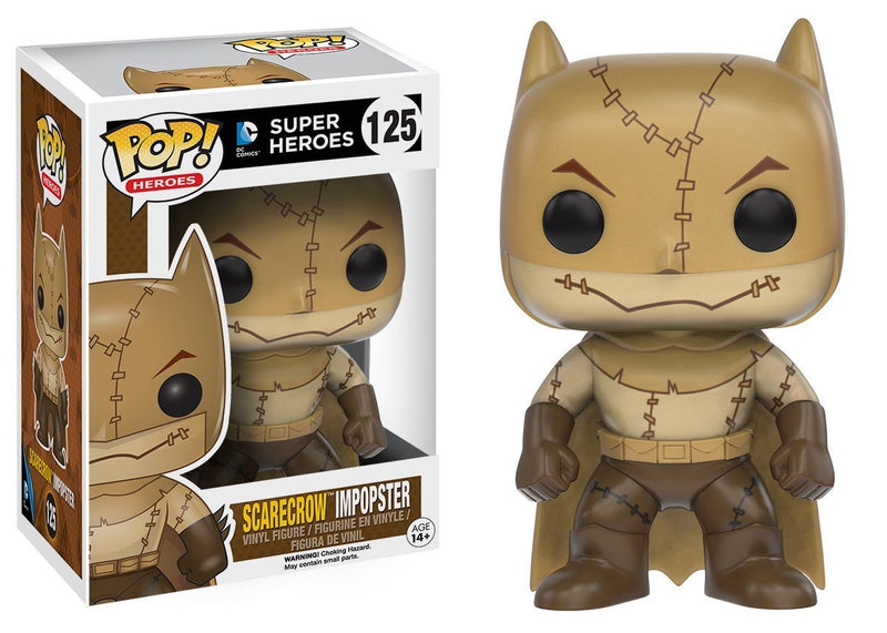 Funko POP Heroes Villains as Batman Scarecrow Action Figure - Kryptonite Character Store