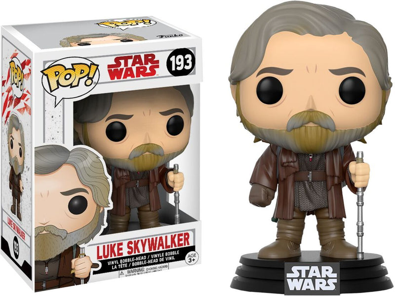 Star Wars: The Last Jedi - Luke Skywalker Pop Vinyl Figures