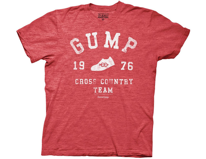 Forrest Gump - Classic Movie Cross Country Adult Fitted T-Shirt - Kryptonite Character Store