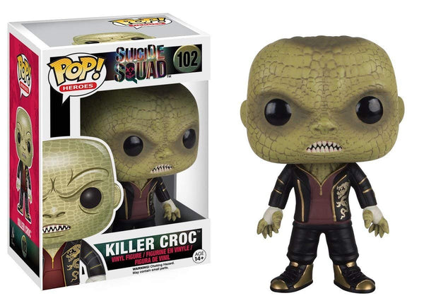 DC Suicide Squad Killer Croc Funko Pop Movies Vinyl Figure