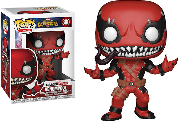 Marvel: Contest of Champions - Venompool Pop Games Vinyl Figure - Kryptonite Character Store