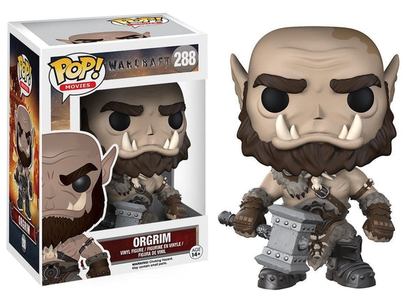 Funko POP Movies: Warcraft - Orgrim Action Figure *CLEARANCE*