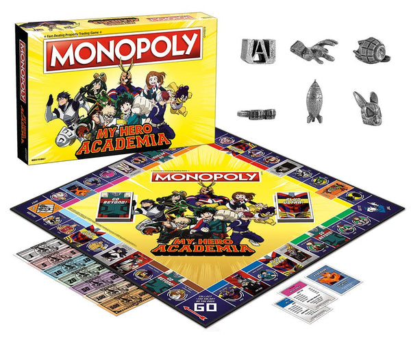 Monopoly My Hero Academia Edition - Kryptonite Character Store