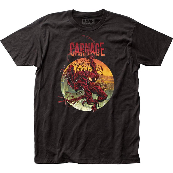Carnage Circle Logo Tee Shirt - Kryptonite Character Store