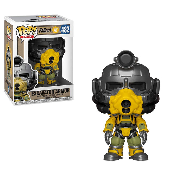 Fallout 76 - Excavator Power Armor POP! Figure - Kryptonite Character Store