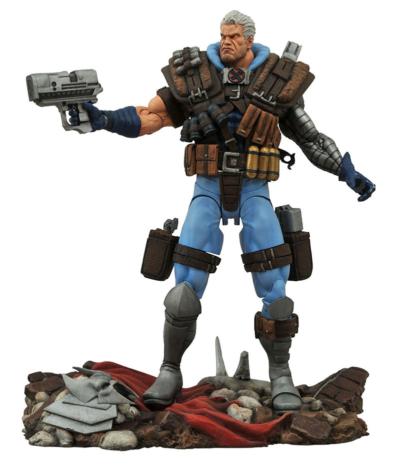 Marvel - Cable Select Action Figure - Kryptonite Character Store