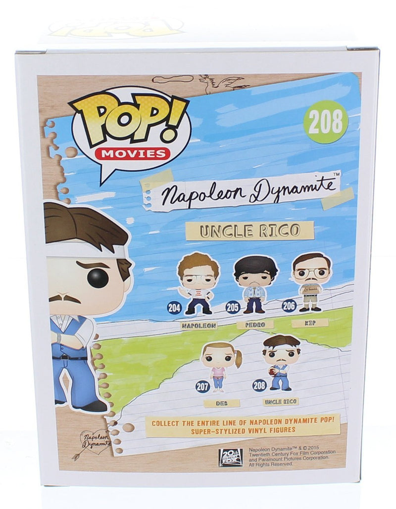 Funko POP Movies: Napoleon Dynamite - Uncle Rico Action Figure - Kryptonite Character Store