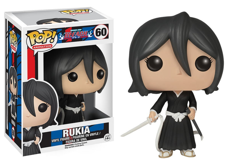 Funko POP Anime: Bleach Rukia Action Figure - Kryptonite Character Store