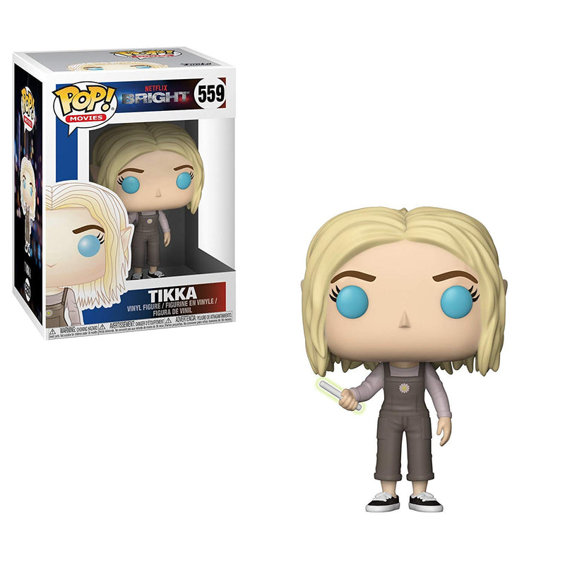 Funko Pop Movies: Bright-Tikka with Wand Collectible Figure