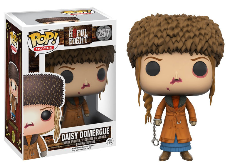 Funko Pop Movies: Hateful Eight-Daisy Domergue Action Figure - Kryptonite Character Store