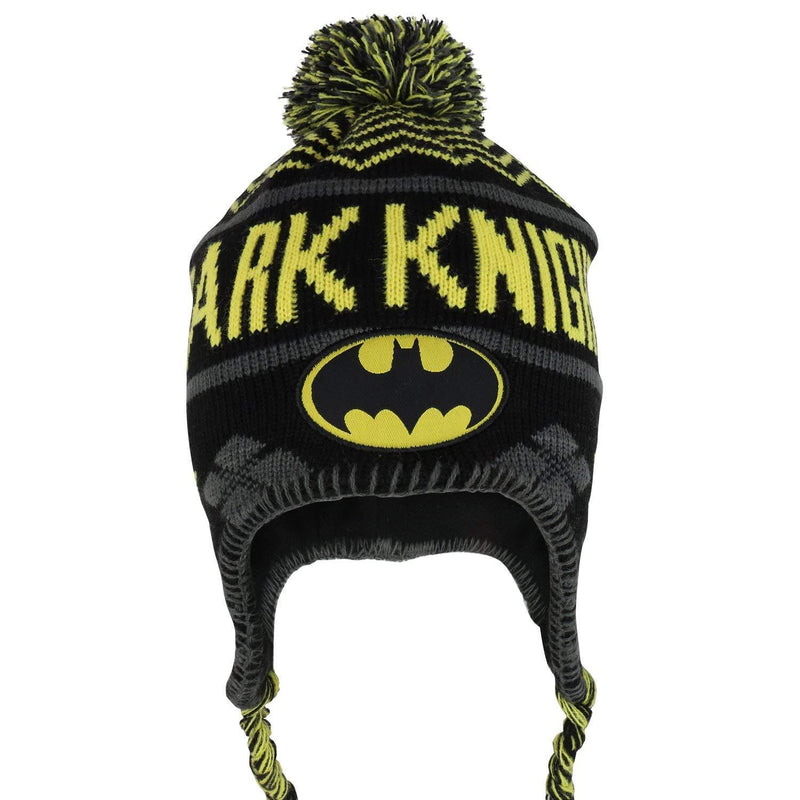 Batman Dark Knight - Youth Size Beanie Hat (Front)