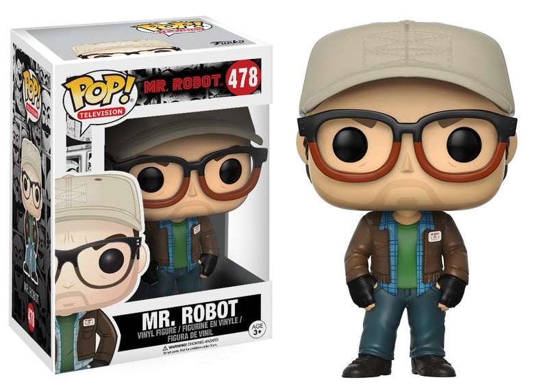 Funko POP TV Mr. Robot Mr. Robot Action Figure - Kryptonite Character Store