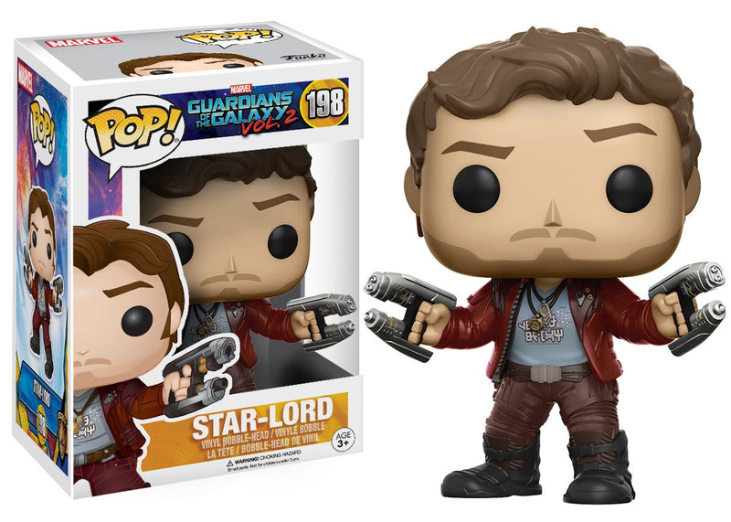 Funko POP Movies: Guardians of the Galaxy 2 - Star Lord Toy Figure