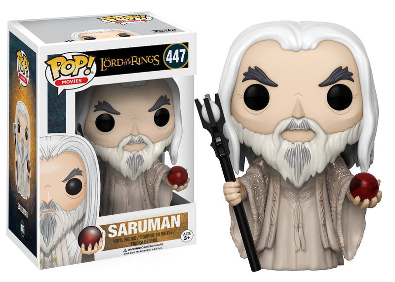 Funko POP Movies The Lord of the Rings Saruman Action Figure - Kryptonite Character Store