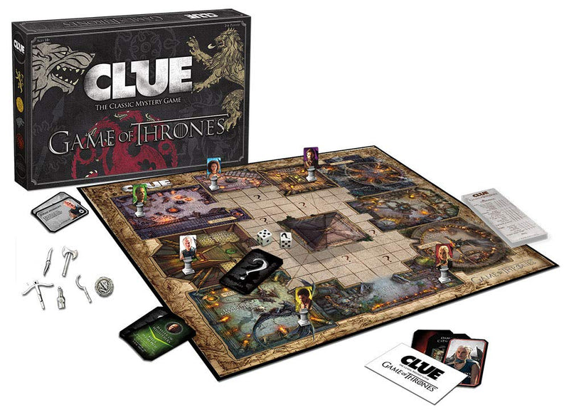 Game of Thrones Edition CLUE Board Game - Kryptonite Character Store