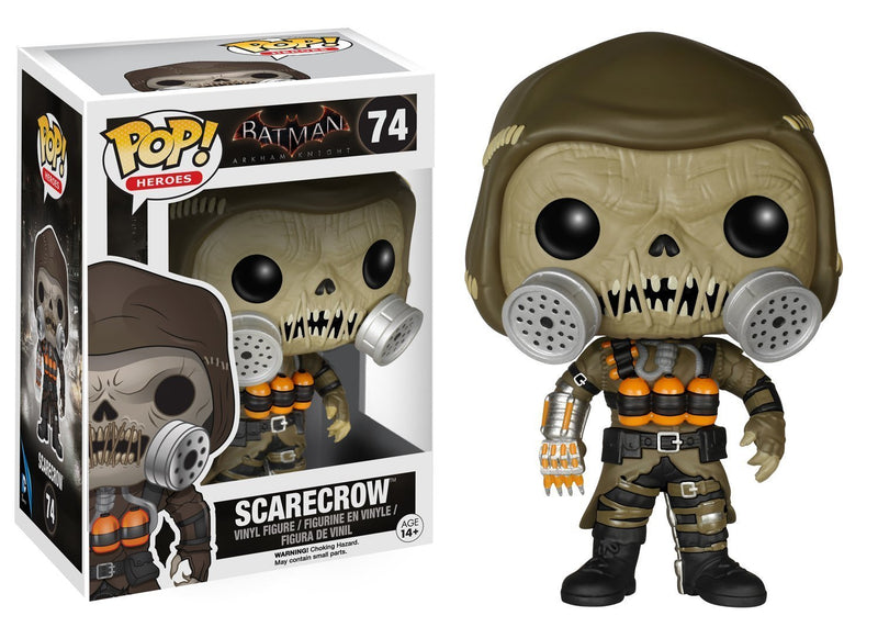 DC Comics Batman Arkham Knight Scarecrow Vinyl POP! Figure - Kryptonite Character Store