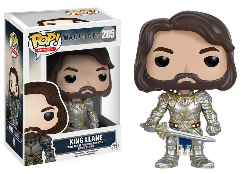 Funko POP Movies: Warcraft - King Llane Action Figure - Kryptonite Character Store