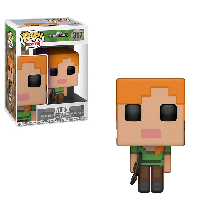 Funko Pop Games: Minecraft-Alex Collectible Figure - Kryptonite Character Store