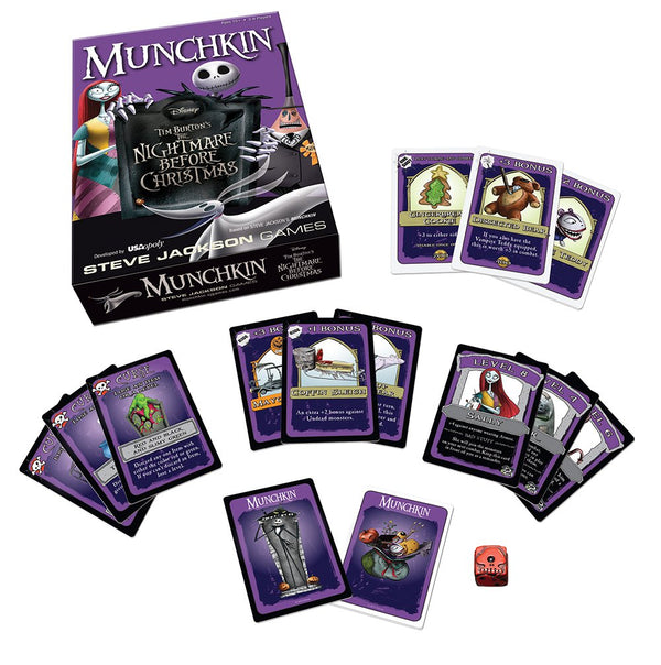 Munchkin Nightmare Before Christmas Card Game - Kryptonite Character Store