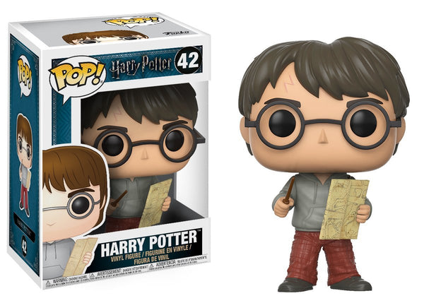 Harry Potter with Marauders Map Pop Vinyl Figure - Kryptonite Character Store