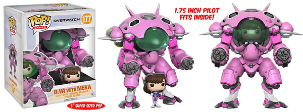 Pop & Buddy! Games: Overwatch D.VA with MEKA Vinyl Figure