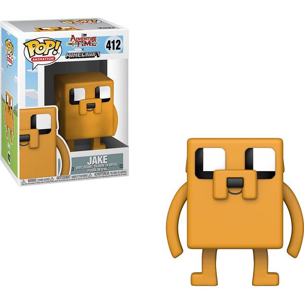 Adventure Times Jake Minecraft x Funko POP Animation Vinyl Figure