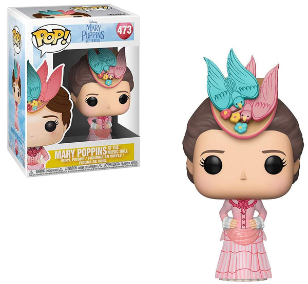 Disney Mary Poppins - Mary (Pink Dress) Pop Vinyl Figure - Kryptonite Character Store